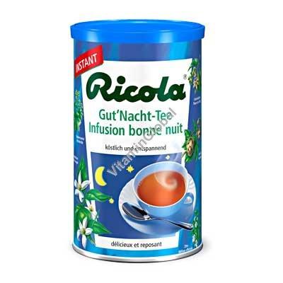 גרגרים תה נמס צמחים לילה טוב 200 גרם - ריקולה