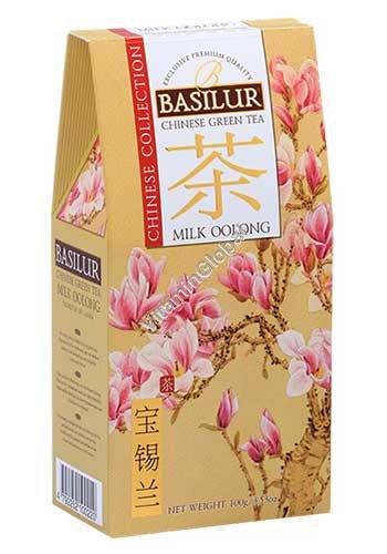 תה סיני ירוק אולונג חלב 100 גרם - בזילור