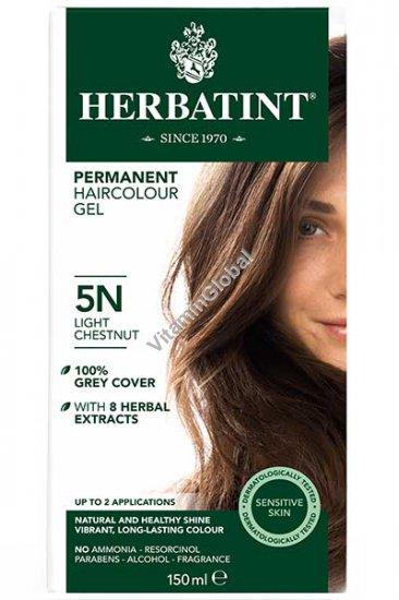 5N צבע שיער גוון חום ערמוני בהיר - הרבטינט
