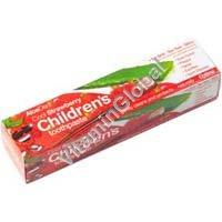 משחת שיניים טבעית לילדים בטעם תות 125 גרם - אלו-אקטיב