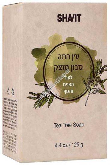 סבון מוצק עץ התה 125 גרם - שביט