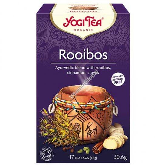 תה רויבוס אורגני תבלין אפריקאי 17 שקיקים - יוגי טי