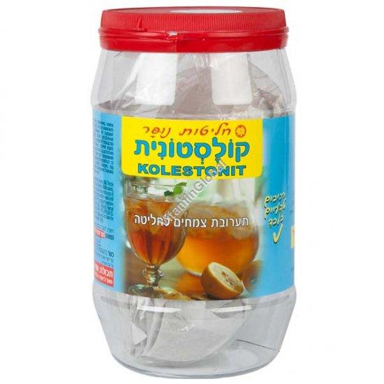 כולסטרן (קולסטונית) תה להורדת כולסטרול 100 שקיות - נופר