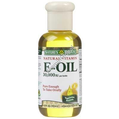 """ויטמין E נוזלי 74 מ""""ל - נייטשורס בוונטי"""
