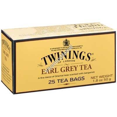 תה ארל גריי 25 שקיות - טווינינגס