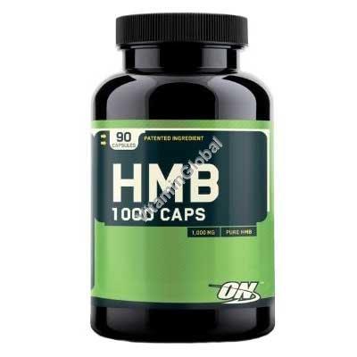 """HMB כמוסות הידרוקסי-מתיל בוטיראט 1000 מ""""ג 90 כמוסות - אופטימום נוטרישן"""