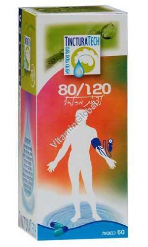 פורמולת 120/80 להורדת לחץ הדם - טינקטורה טק