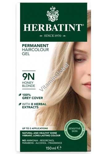 צבע לשיער גוון בלונד דבש (9N) - הרבטינט