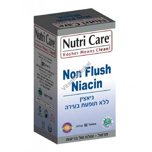 ניאצין ללא תופעת בעירה 90 טבליות - נוטריקר