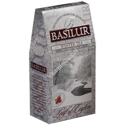 פרימיום תה שחור חמוציות 100 גרם - בסילור