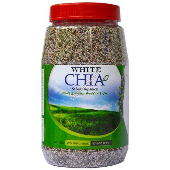 זרעי צ\'יה לבנה 360 גרם - י.ג.נ