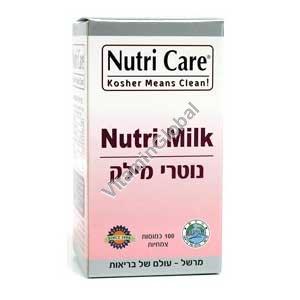 נוטרי מילק (נוטרי מיל-קיט) - להגברת ייצור חלב אצל מניקות 100 כמוסות צמחיות - נוטריקר