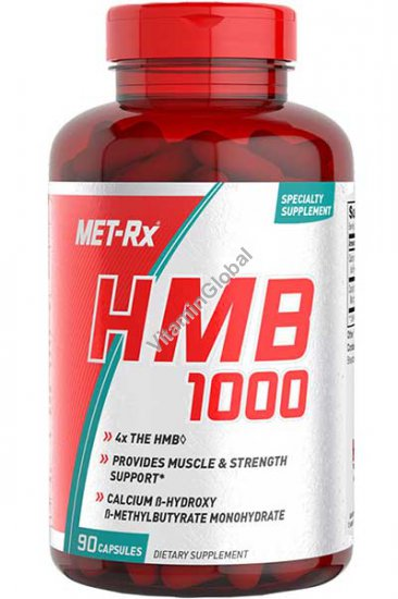 HMB (בטא-הידרוקסי בטא-מתילבוטראט) 90 כמוסות - מטריקס