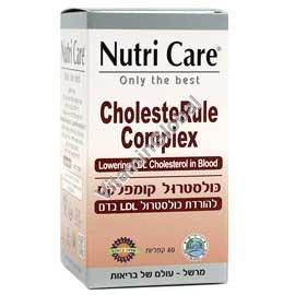 כולסטרול קומפלקס להורדת רמת הכולסטרול LDL בדם 60 קפליות - נוטריקר