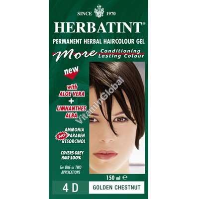 צבע לשיער ערמוני מוזהב 4D - הרבטינט