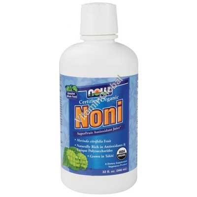 """נקטר (משקה) נוני אורגני 946 מ""""ל - נאו פודס"""