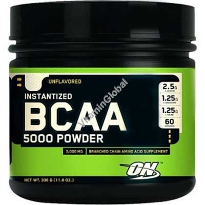 BCAA 5000 באבקה 345 גרם - אופטימום נוטרישן