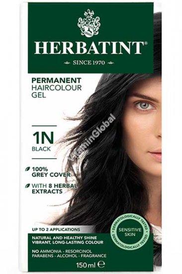 צבע לשיער גוון שחור (1N) - הרבטינט