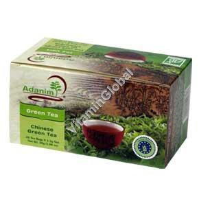 תה ירוק 20 שקיקים - עדנים
