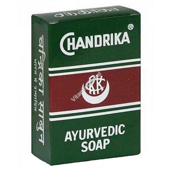 סבון צ\'נדריקה איורוודי ירוק 75 גרם