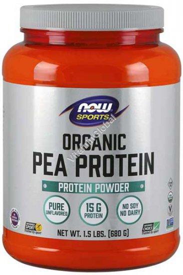 אבקת חלבון אפונה טבעי 907 גרם - נאו פודס