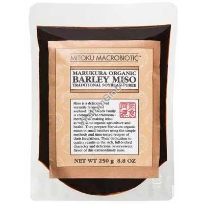 מיסו אורגני על בסיס שעורה וסויה 250 גרם - מיטוקו