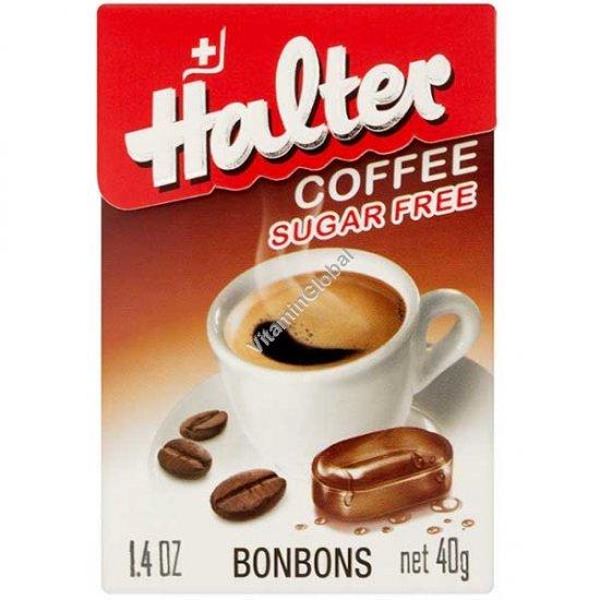 סוכריות ללא סוכר בטעם קפה 40 גרם - הלטר