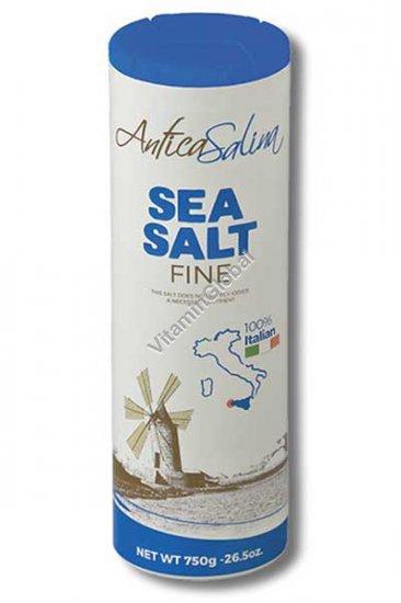 מלח ים דק 750 גרם - אנתיקה סלינה