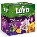 חליטת פירות עם שזיף וקנמון 20 שקיות תה פירמידה - לויד