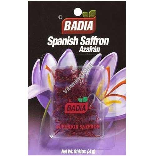 זעפרן ספרדי 0.4 גרם - בדיה