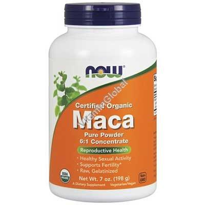 אבקת מאקה אורגנית 198 גרם - נאו פודס