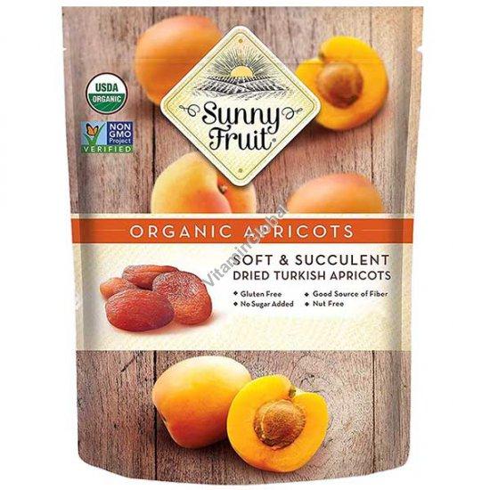משמשים אורגניים מיובשים בשמש 250 גרם (5 יח של 50 גרם) - סאני פרוט