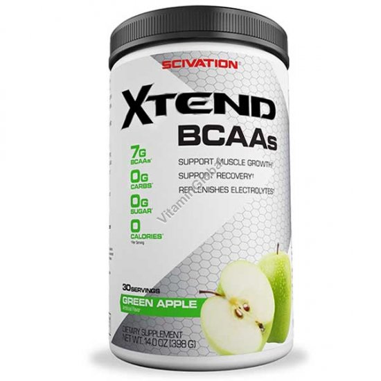 Xtend - אקסטנד בי סי איי איי קומפלקס בטעם תפוח ירוק 398 גרם - Scivation