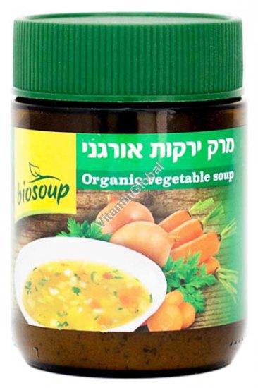 מרק ירקות אורגני ביוסופ 150 גרם - נטורפוד