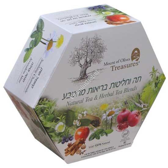 מארז תה וחליטות בריאות 6 טעמים 48 שקיקים - תה עדנים