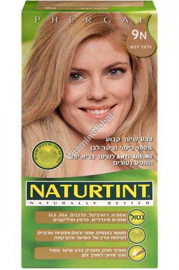 צבע שיער קבוע, גוון בלונד דבש 9N - נטורטינט