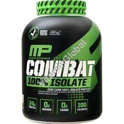 קומבט - אבקת חלבון איזולט בטעם וניל 2268 גרם - מאסל פארם + משלוח חינם