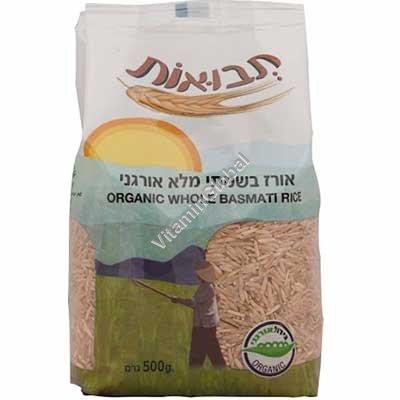 אורז בשמתי מלא אורגני 500 גרם - תבואות