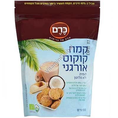 קמח קוקוס אורגני 500 גרם - כרם