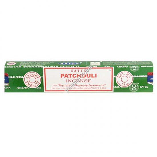 קטורת הודית טבעית פטשולי 15 גרם - סאטיה