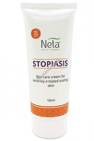 """משחת סטופיאזיס לעור מגורה עם קשקשת קשה 100 מ""""ל - נטע"""