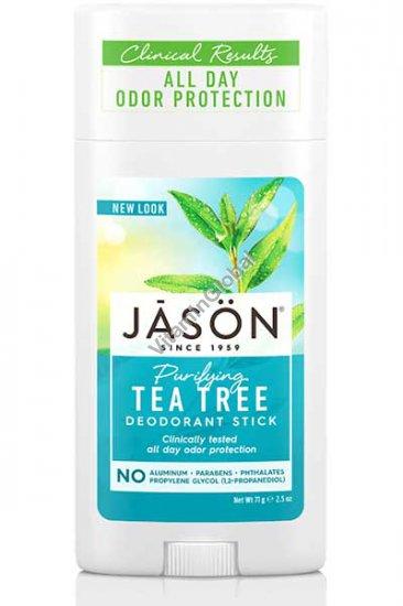 דאודורנט סטיק עץ התה 71 גרם - ג\'ייסון
