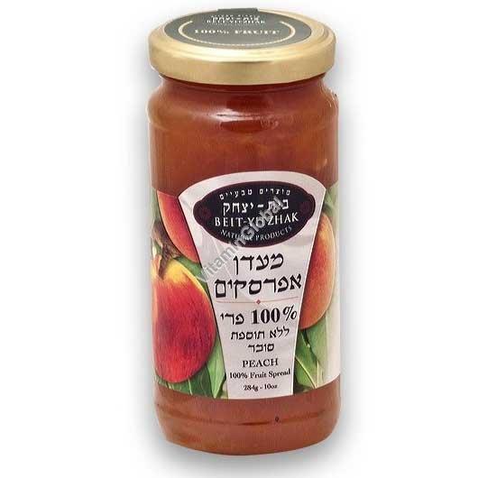 מעדן אפרסקים ללא תוספת סוכר 284 גרם - בית יצחק