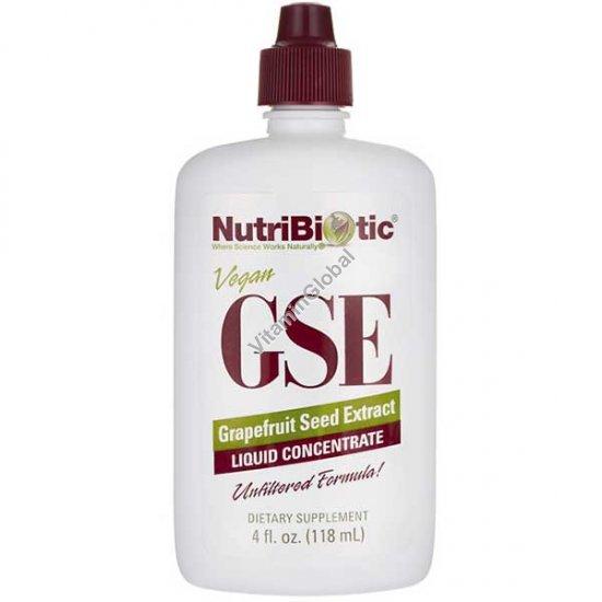 "GSE תמצית זרעי אשכוליות 118 מ""ל - נוטריביוטיק"