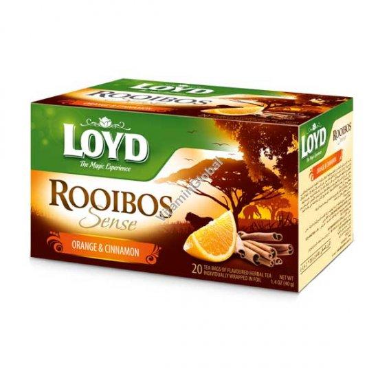 תה רויבוש בטעם תפוז וקנמון 20 שק\' - לויד