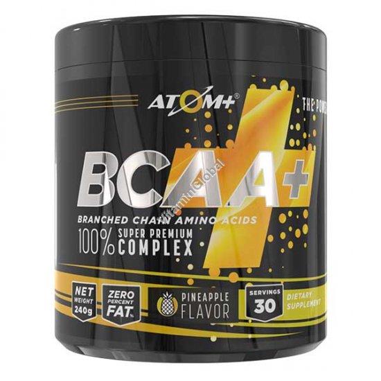 BCAA - אבקת חומצות אמינו בטעם אננס 30 מנות ארוזות מראש - אטום +
