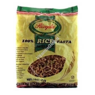אטריות אורז חום מלא ספירלה 454 גרם - ריזופיה
