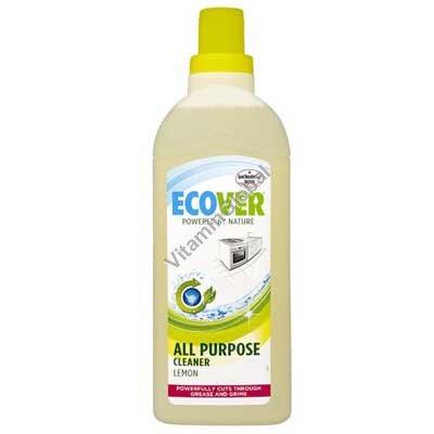 נוזל ניקוי רצפות ומשטחים 1 ליטר - אקובר
