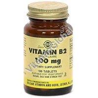 ויטמין בי-2 100 כמוסות צמחיות - סולגאר