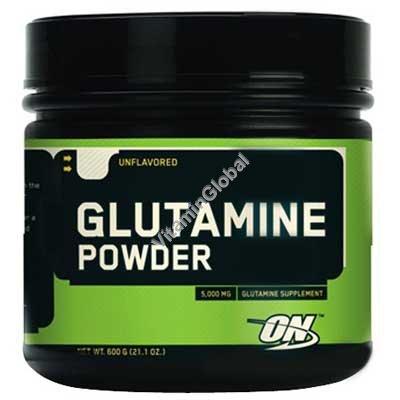 אבקת גלוטמין 600 גרם - אופטימום נוטרישן